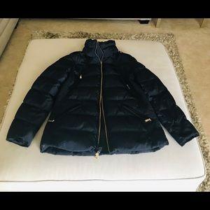 Michael Kors puffer coat. Navy color